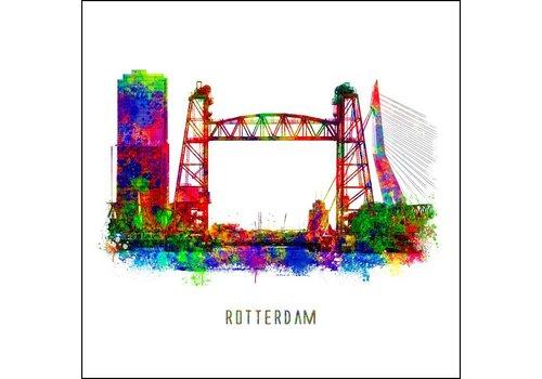 Ben Kleyn Rotterdam poster | De Hef | Pop art poster | 30x30