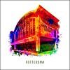 Ben Kleyn Rotterdam poster | Cruise Terminal | Pop art poster | 30x30