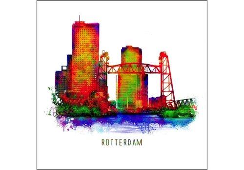 Ben Kleyn Rotterdam poster | De Hef 2 | Pop art poster | 30x30