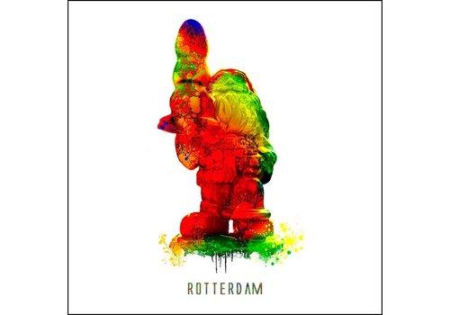 Ben Kleyn Rotterdam poster | Kabouter | Pop art poster | 30x30