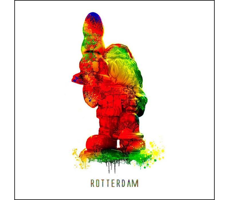 Rotterdam poster | Kabouter | Pop art poster | 30x30
