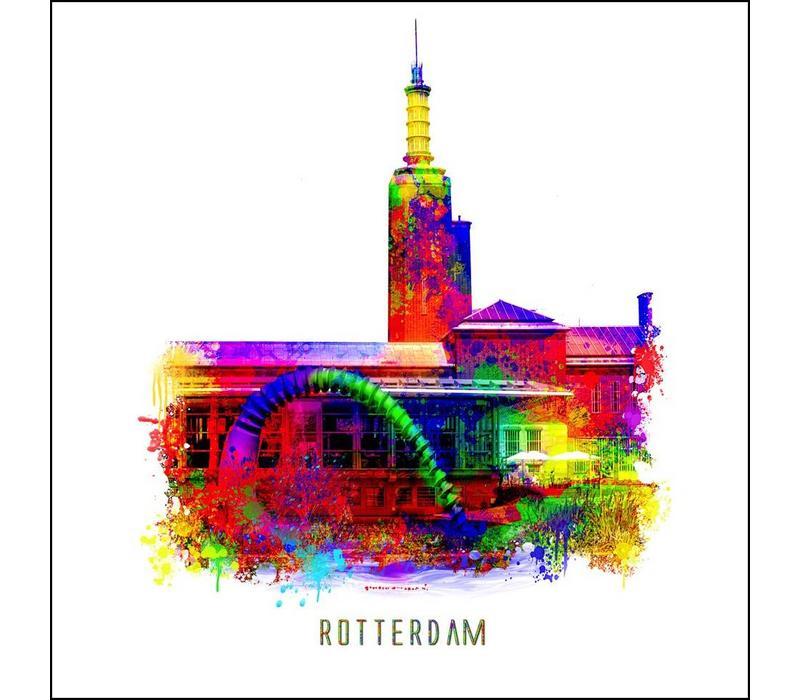 Rotterdam poster | Boijmans van Beuningen | Pop art poster | 30x30