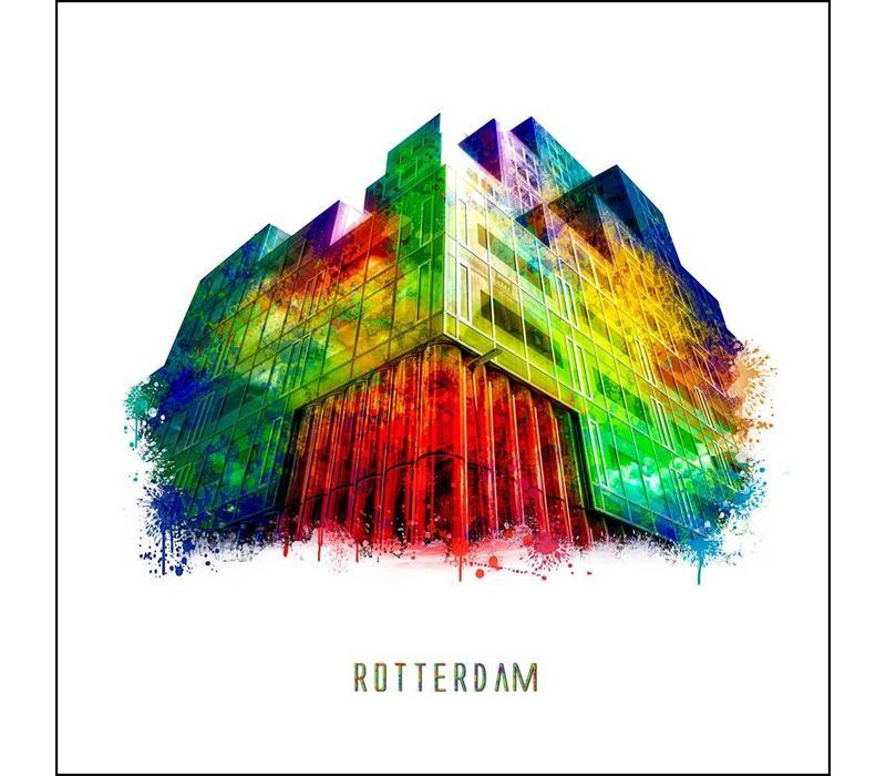 Rotterdam poster   Timmerhuis   Pop art poster   30x30