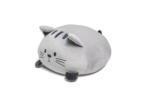 Balvi Cushion Sweet Kitty grijs