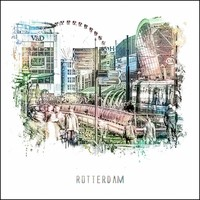 Rotterdam poster | Koopgoot | vintage poster | 30x30