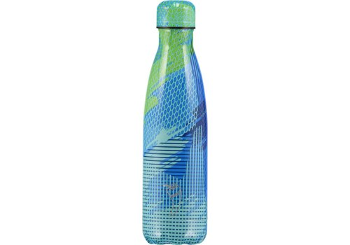 Chilly's Chilly's bottle 500ml Abstract 5 green