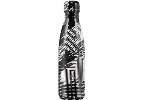Chilly's Chilly's bottle 500ml Abstract 4 black