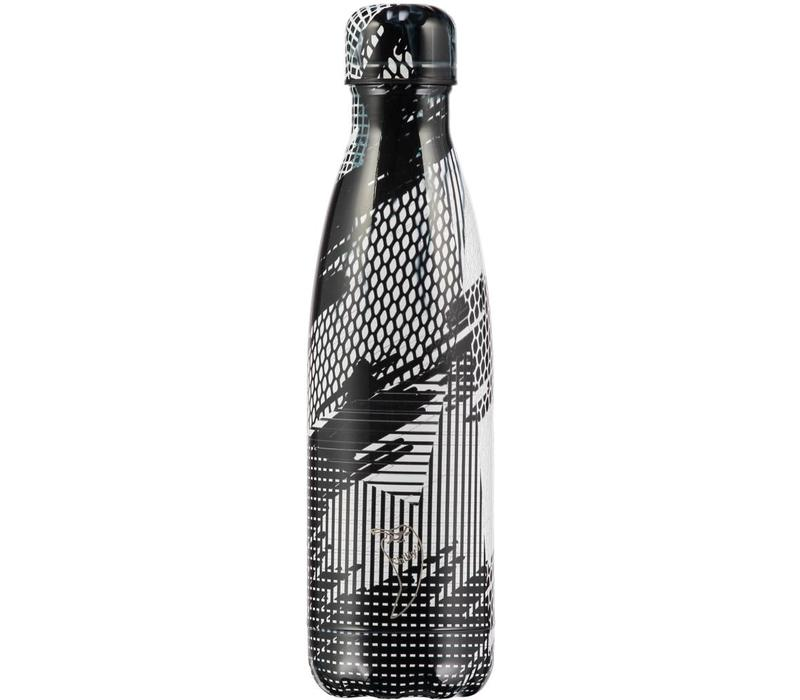Chilly's bottle 500ml Abstract 4 black