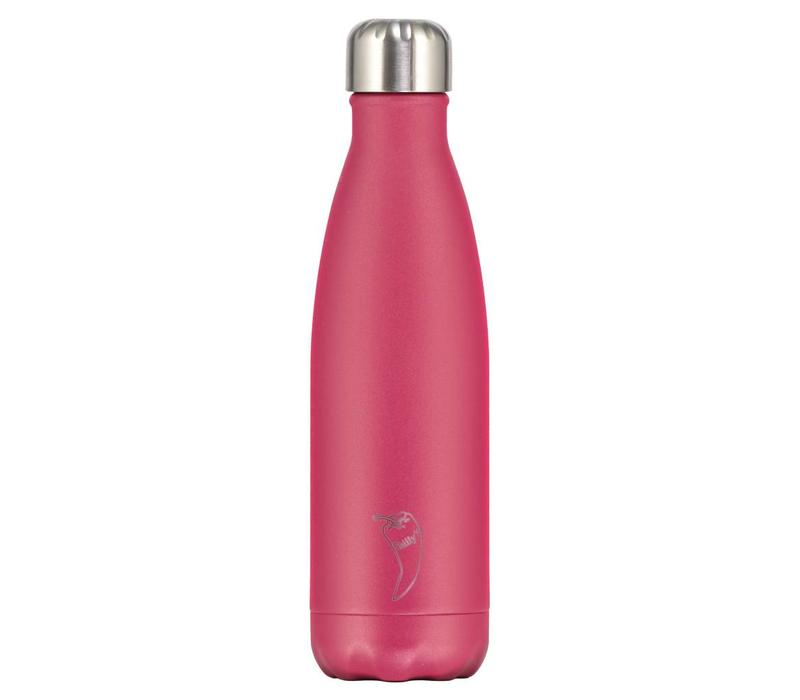 Chilly's bottle 500ml pink matte