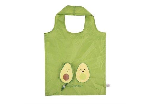 Sass & Belle Avocuddle Foldable shopping bag