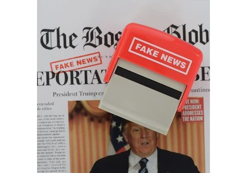 Mags Fake news stempel