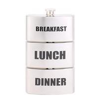 Heupfles ontbijt lunch diner