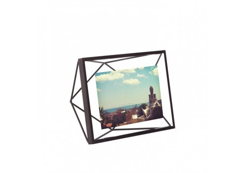 Prisma- fotolijst 10x15cm zwart
