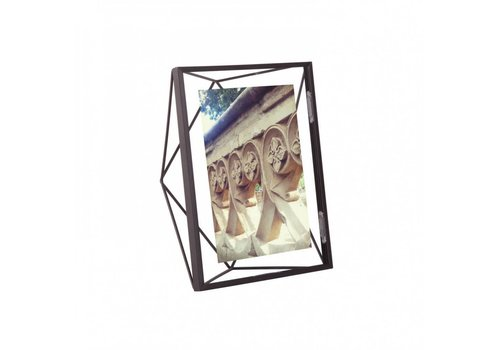 Prisma fotolijst 13x18cm Zwart