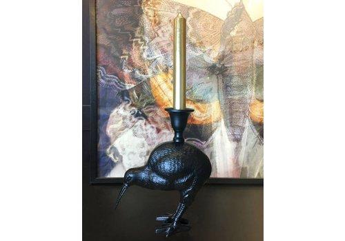 Vanilla Fly Kandelaar Kiwi bird zwart