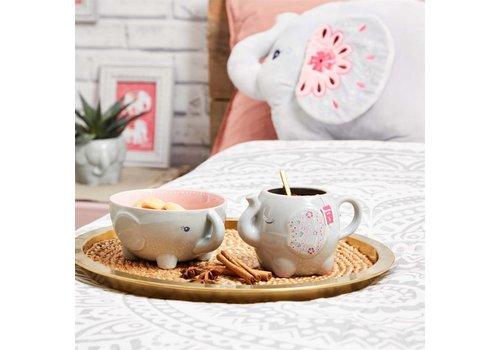 Sass & Belle Mandala Elephant mug