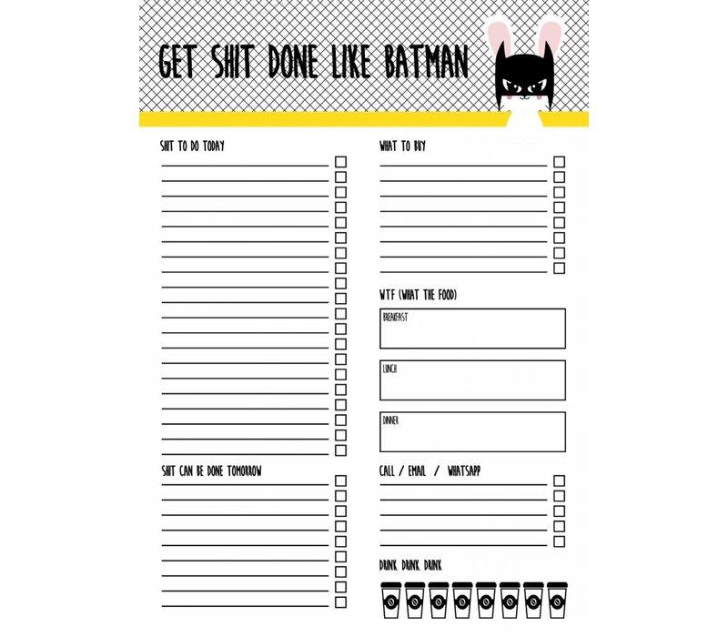 Planner Batbunny