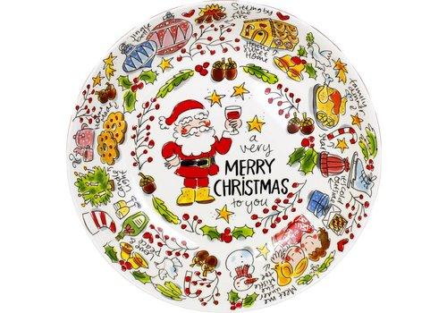 BLOND AMSTERDAM Christmas bowl 33 cm Merry