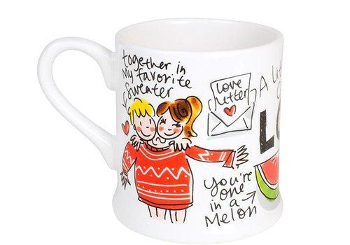 BLOND AMSTERDAM Love mug melon