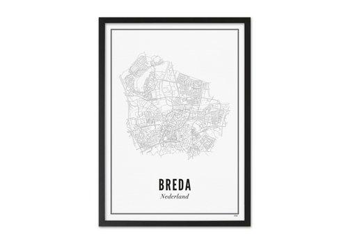 Wijck A4 Poster Breda stad