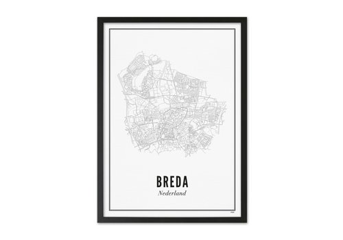 Wijck Poster A4 - Breda stad