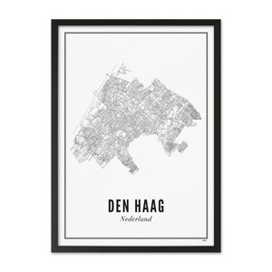 Wijck A4 Poster Den Haag stad