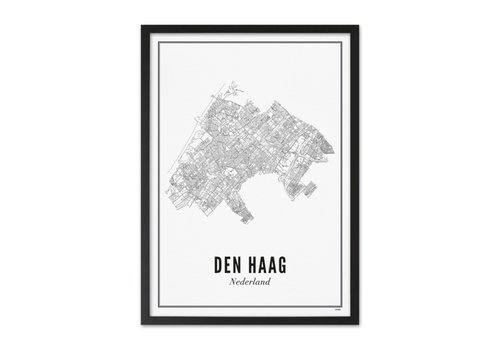 Wijck Poster A4 - Den Haag stad