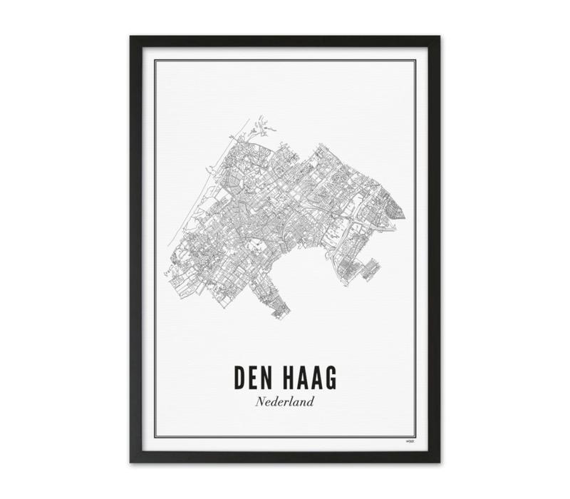 A4 Poster Den Haag stad