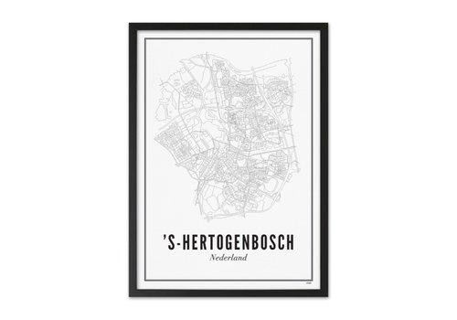 Wijck A4 Poster Den Bosch stad