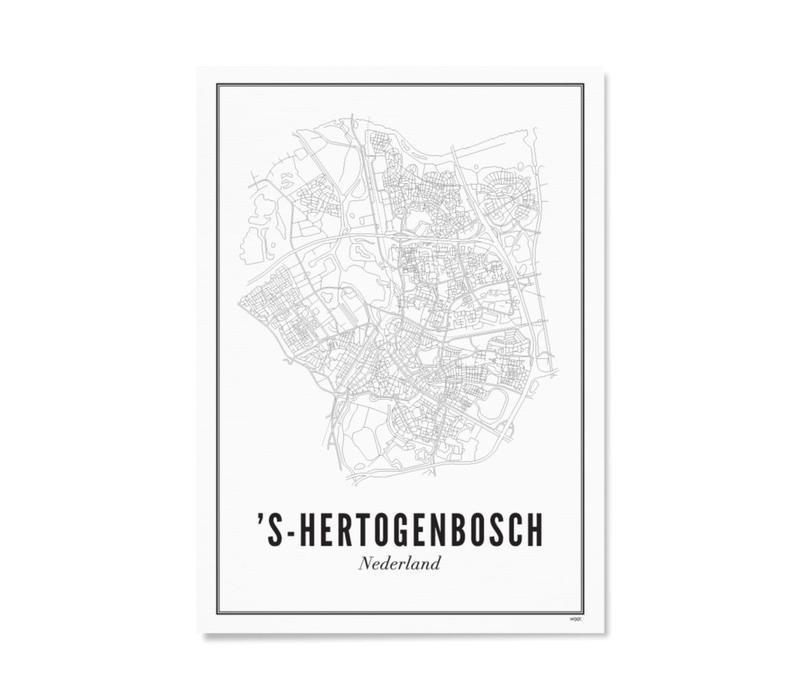 Poster A4 - Den Bosch stad