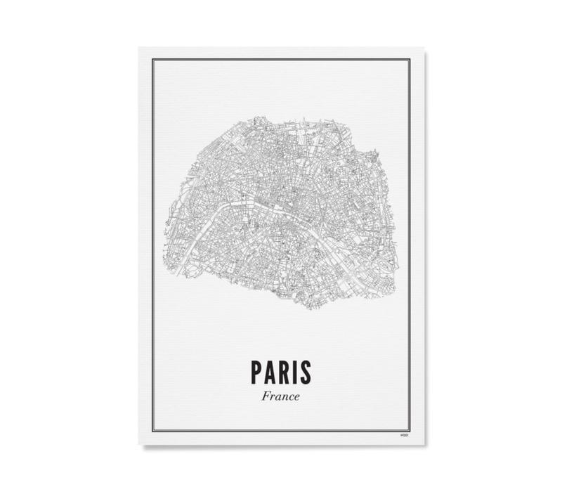 A4 Poster Parijs stad