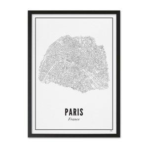 Wijck A4 Poster Parijs stad