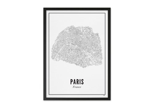 Wijck Poster A4 -  Parijs stad