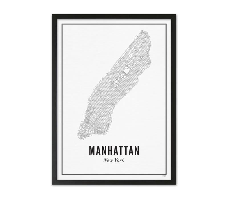 A4 Poster New York Manhattan