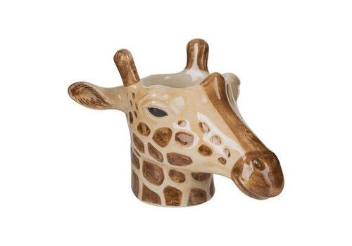 Quail Designs Eierdop of cactus potje- Giraffe