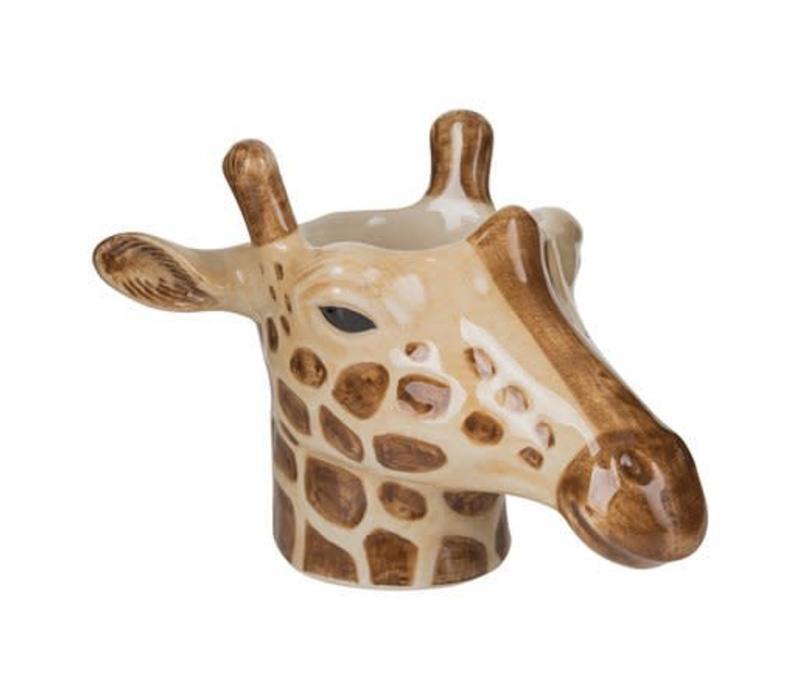 Eierdop of cactus potje- Giraf