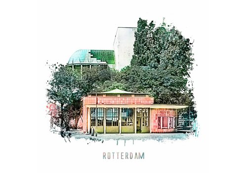 Ben Kleyn Rotterdam Maastunnel – vintage 30x30