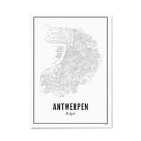 A4 Poster Antwerpen stad