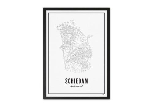 Wijck Poster A4 -  Schiedam