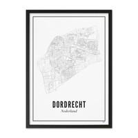 Poster A4 - Dordrecht stad