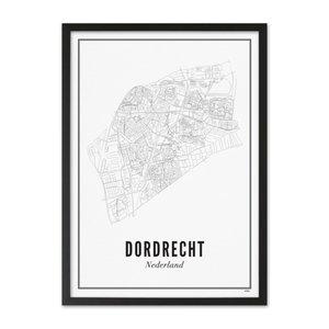 Wijck Poster A4 - Dordrecht stad