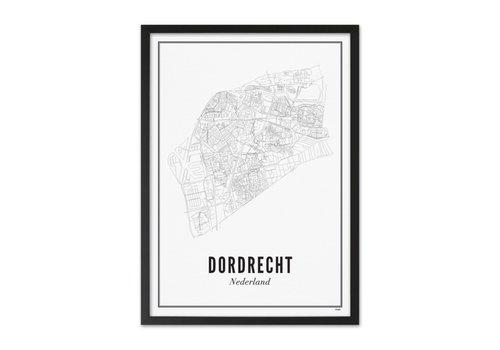 Wijck A4 Poster Dordrecht stad