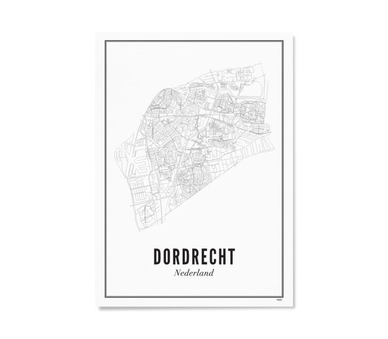 A4 Poster Dordrecht stad