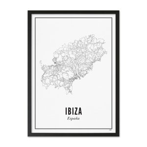 Wijck A4 Poster Ibiza