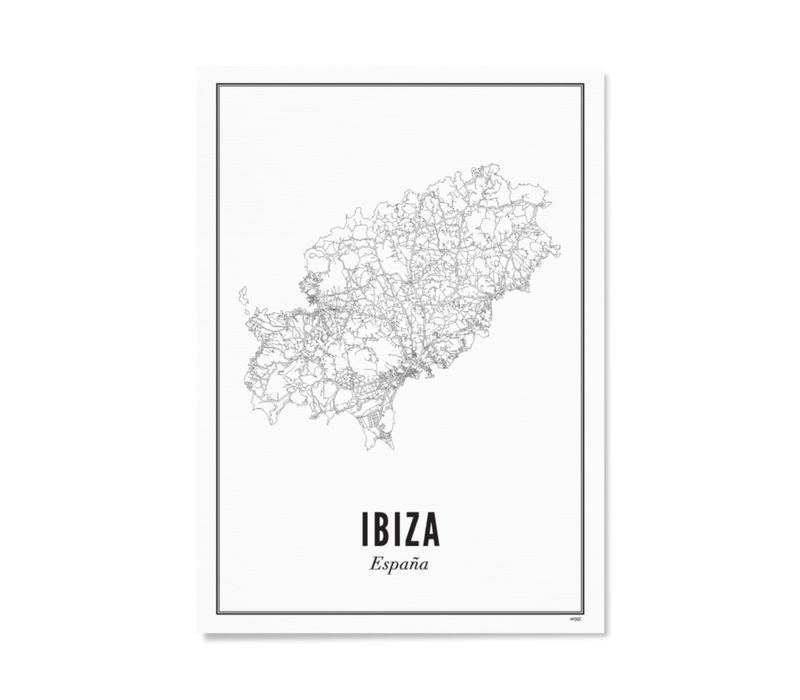 A4 Poster Ibiza