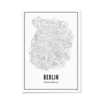Poster A4 - Berlijn stad