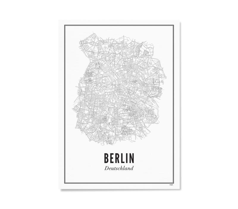 A4 Poster Berlijn stad