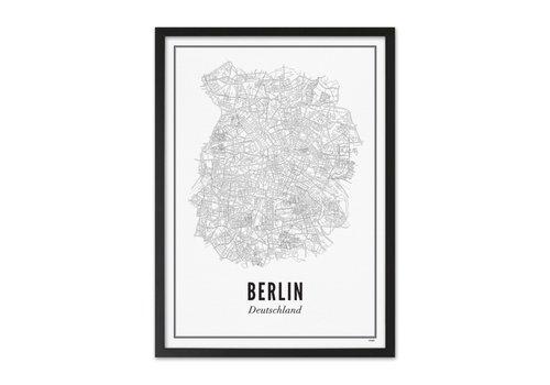Wijck Poster A4 - Berlijn stad