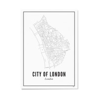A4 Poster Londen city