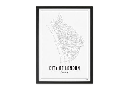 Wijck A4 Poster Londen city